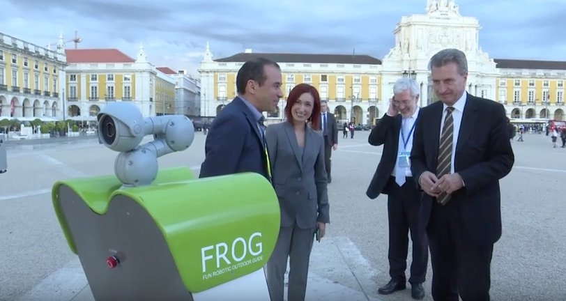 FROG at ICT 2015