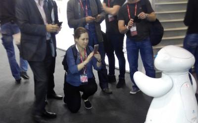 Monarch Robot at MWC 2016