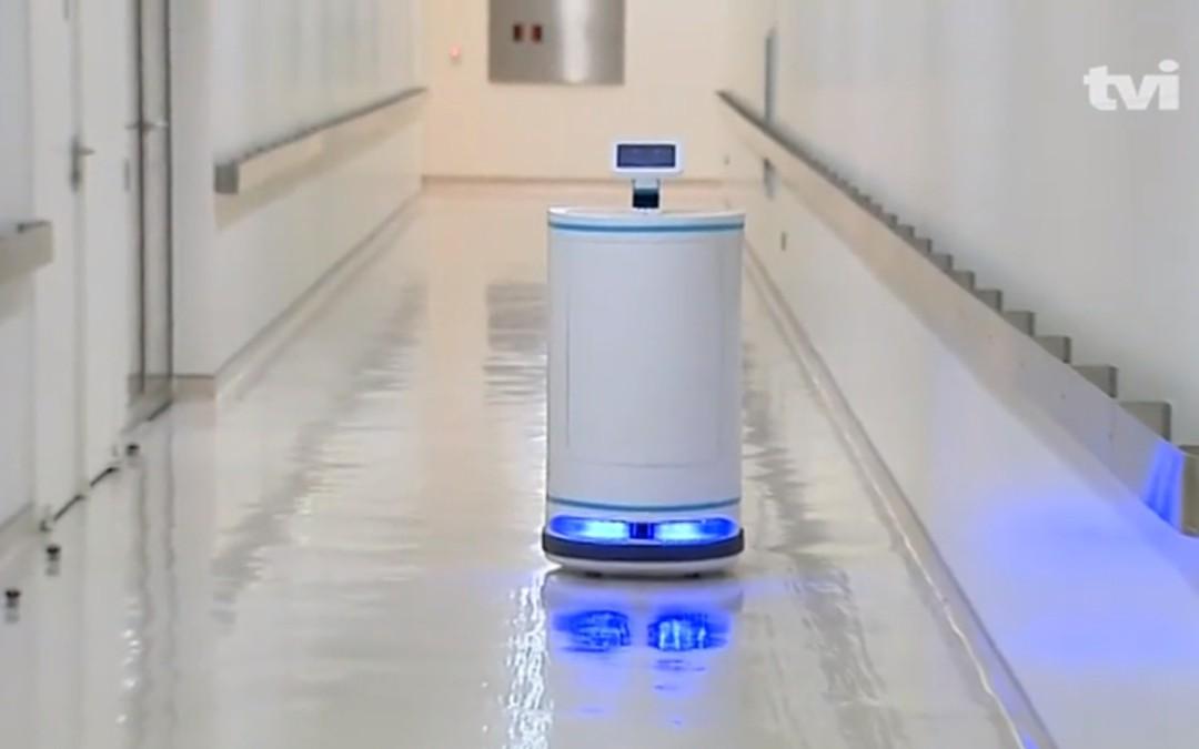 IDMind's robot in FChampalimaud